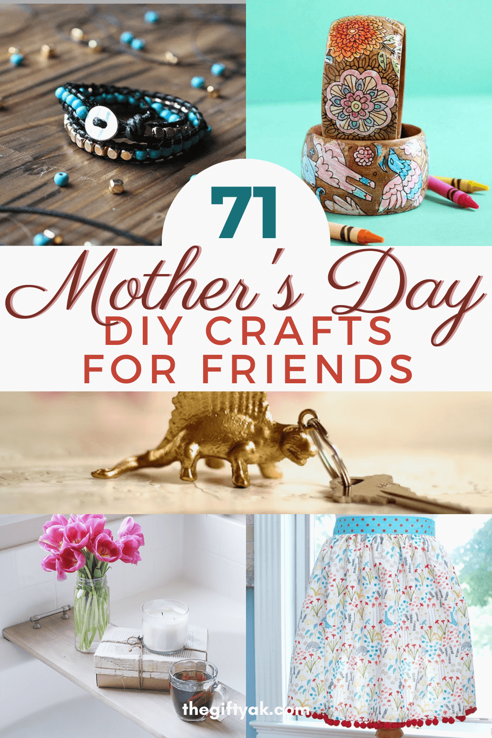 71 Friends Mothers Day DIY Homemade Craft Gift Inspiration Pinterest How to Make Tutorial Guide