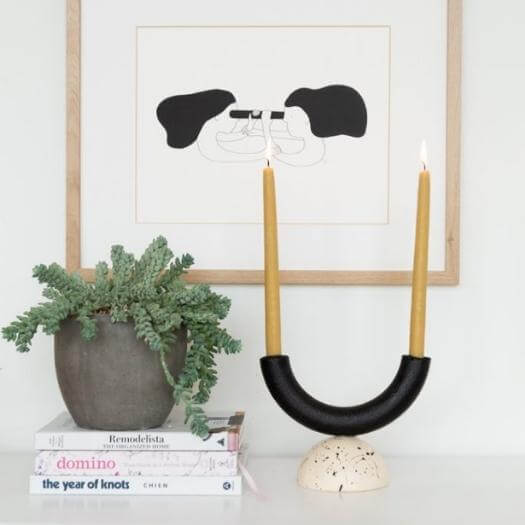 Arch Candle Holder Best Mothers Day DIY Homemade Crafting Gift Ideas Inspiration How To Make Tutorials Recipes Gifts To Make
