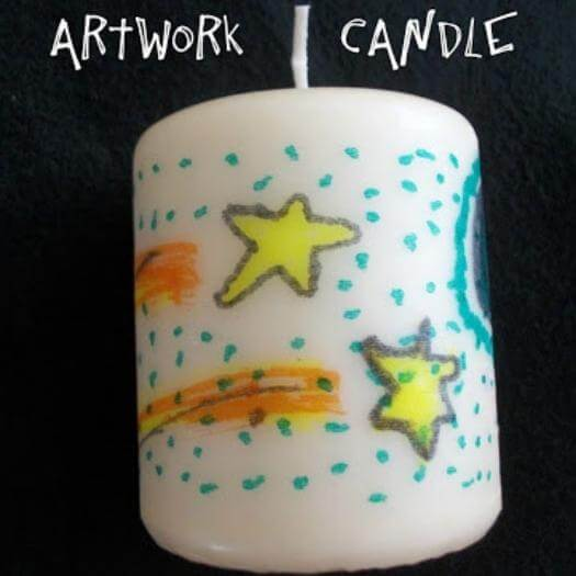 Artsy Candles Cheap Affordable Mothers Day DIY Homemade Crafting Gift Ideas Inspiration How To Make Tutorials Recipes Gifts To Make