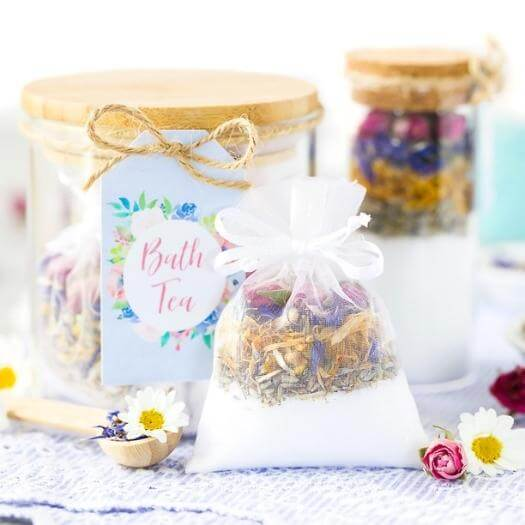 Bath Teas Personalized Mothers Day DIY Homemade Crafting Gift Ideas Inspiration How To Make Tutorials Recipes Gifts To Make