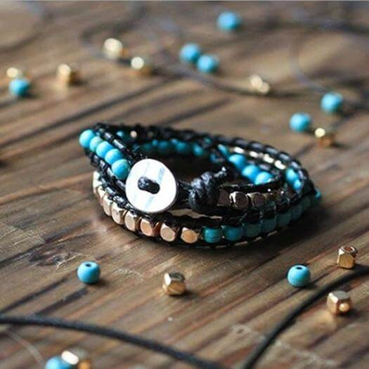 Beaded Bracelet Best Friend Mothers Day DIY Homemade Crafting Gift Ideas Inspiration How To Make Tutorials Recipes Gifts To Make
