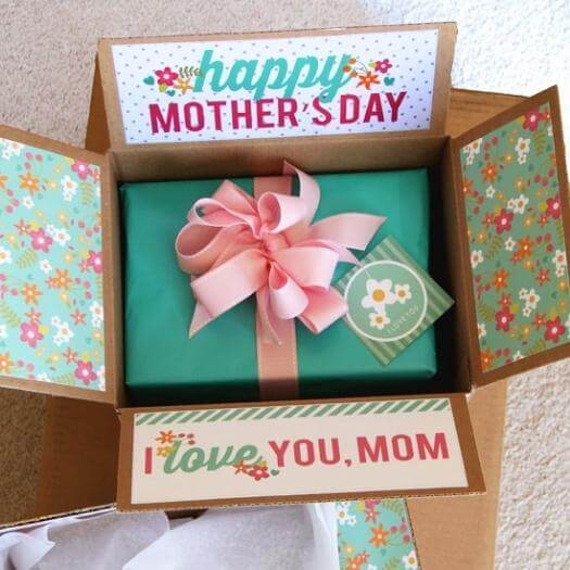 Beautiful Gift Wrapping Easy Last Minute Mothers Day DIY Homemade Crafting Gift Ideas Inspiration How To Make Tutorials Recipes Gifts To Make
