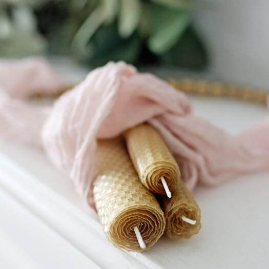 Beeswax Candles Sister Mothers Day DIY Homemade Crafting Gift Ideas Inspiration How To Make Tutorials Recipes Gifts To Make