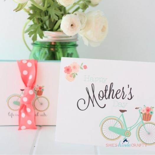Bike Stationary Cheap Affordable Mothers Day DIY Homemade Crafting Gift Ideas Inspiration How To Make Tutorials Recipes Gifts To Make
