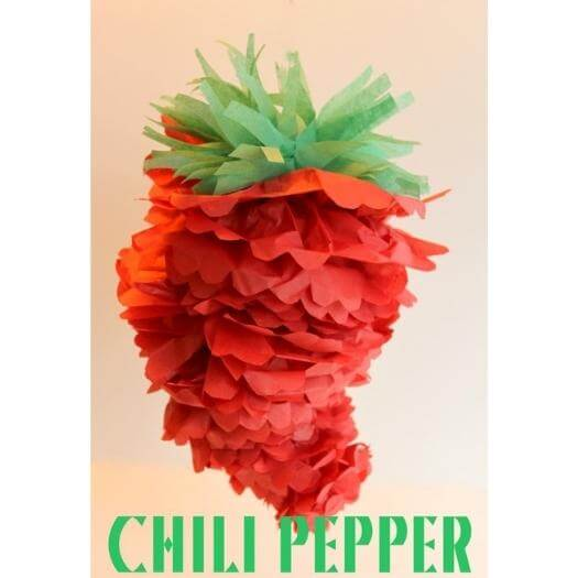 Chili Pepper Pom Mexican Mothers Day DIY Homemade Crafting Gift Ideas Inspiration How To Make Tutorials Recipes Gifts To Make