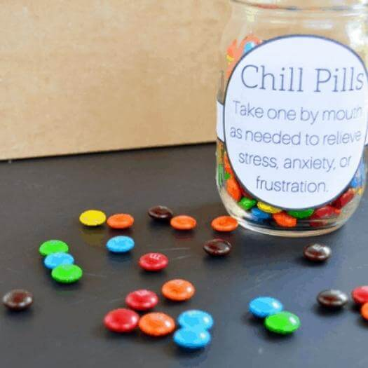 Chill Pills Funny Mothers Day DIY Homemade Crafting Gift Ideas Inspiration How To Make Tutorials Recipes Gifts To Make