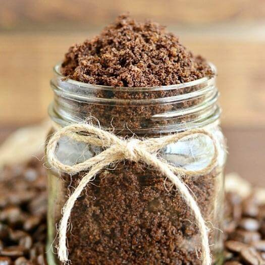Coffee Sugar Scrub Best Mothers Day DIY Homemade Crafting Gift Ideas Inspiration How To Make Tutorials Recipes Gifts To Make