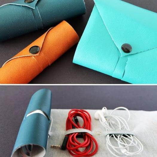 Cord Roll Sister Mothers Day DIY Homemade Crafting Gift Ideas Inspiration How To Make Tutorials Recipes Gifts To Make