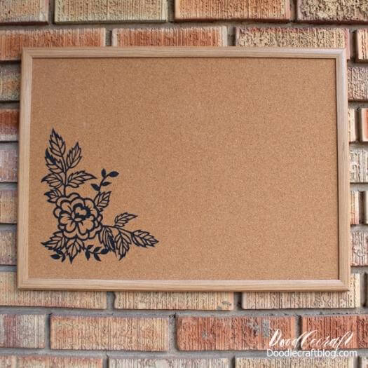 Custom Cork Board Personalized Mothers Day DIY Homemade Crafting Gift Ideas Inspiration How To Make Tutorials Recipes Gifts To Make