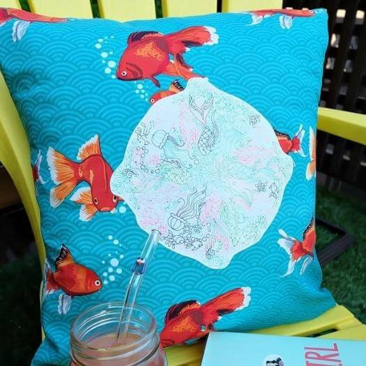 Custom Pillow Personalized Mothers Day DIY Homemade Crafting Gift Ideas Inspiration How To Make Tutorials Recipes Gifts To Make