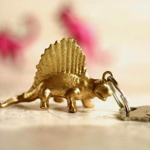 Dinosaur Keychain Best Friend Mothers Day DIY Homemade Crafting Gift Ideas Inspiration How To Make Tutorials Recipes Gifts To Make