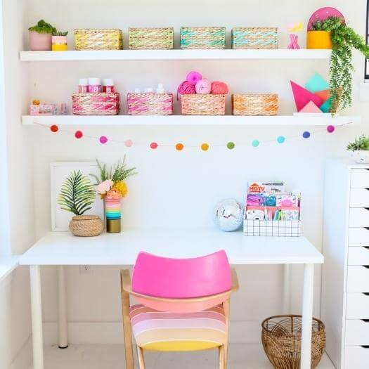 Dip Dyed Storage Grandma Mothers Day DIY Homemade Crafting Gift Ideas Inspiration How To Make Tutorials Recipes Gifts To Make