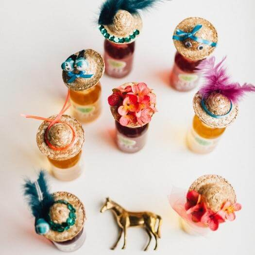 Drink Party Hats Best Friend Mothers Day DIY Homemade Crafting Gift Ideas Inspiration How To Make Tutorials Recipes Gifts To Make
