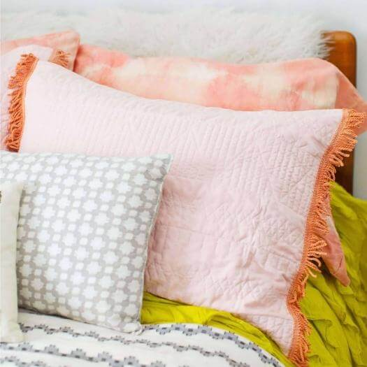 Dyed Pillow Case Cheap Affordable Mothers Day DIY Homemade Crafting Gift Ideas Inspiration How To Make Tutorials Recipes Gifts To Make