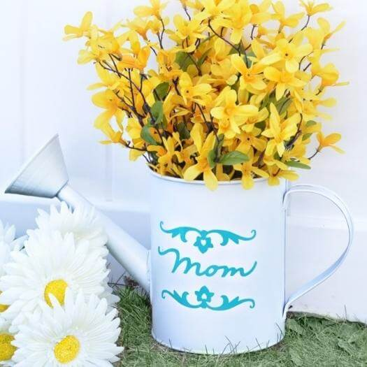 Farmers Vase Best Friend Mothers Day DIY Homemade Crafting Gift Ideas Inspiration How To Make Tutorials Recipes Gifts To Make