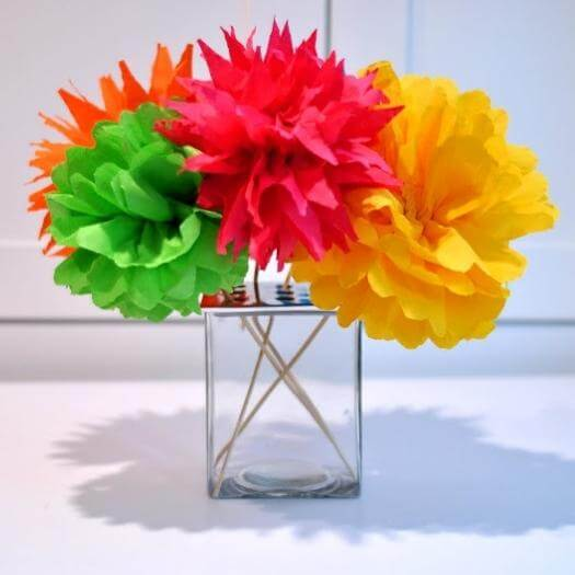 Fiesta Flowers Mexican Mothers Day DIY Homemade Crafting Gift Ideas Inspiration How To Make Tutorials Recipes Gifts To Make