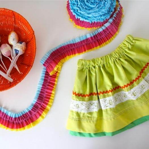Fiesta Skirts Mexican Mothers Day DIY Homemade Crafting Gift Ideas Inspiration How To Make Tutorials Recipes Gifts To Make