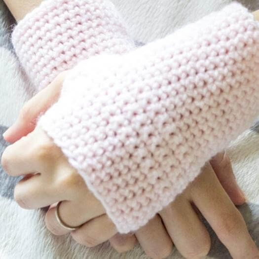 Fingerless Gloves Unique Mothers Day DIY Homemade Crafting Gift Ideas Inspiration How To Make Tutorials Recipes Gifts To Make