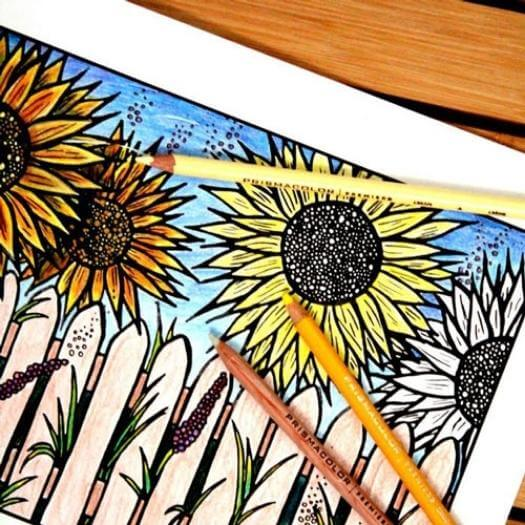 Flower Coloring Pages Unique Mothers Day DIY Homemade Crafting Gift Ideas Inspiration How To Make Tutorials Recipes Gifts To Make
