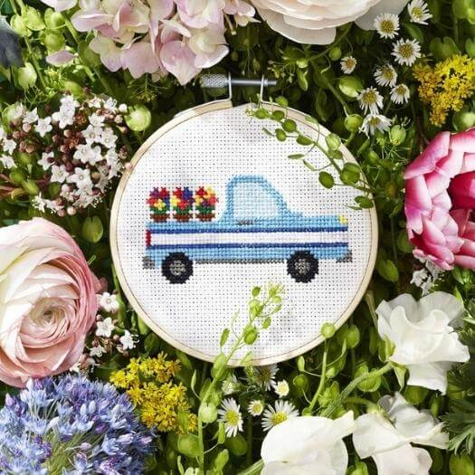 Free Cross Stitch Patterns Cheap Affordable Mothers Day DIY Homemade Crafting Gift Ideas Inspiration How To Make Tutorials Recipes Gifts To Make