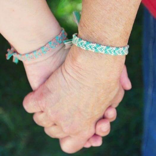 Friendship Bracelets Best Friend Mothers Day DIY Homemade Crafting Gift Ideas Inspiration How To Make Tutorials Recipes Gifts To Make