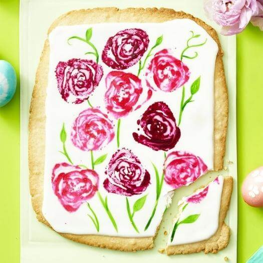 Giant Sugar Cookie Cheap Affordable Mothers Day DIY Homemade Crafting Gift Ideas Inspiration How To Make Tutorials Recipes Gifts To Make