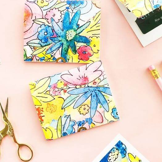 Gift Card Holder Cheap Affordable Mothers Day DIY Homemade Crafting Gift Ideas Inspiration How To Make Tutorials Recipes Gifts To Make