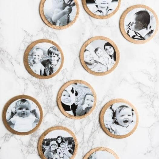 Gilded Ornaments Grandma Mothers Day DIY Homemade Crafting Gift Ideas Inspiration How To Make Tutorials Recipes Gifts To Make