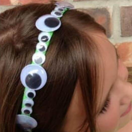 Google Eye Headband Funny Mothers Day DIY Homemade Crafting Gift Ideas Inspiration How To Make Tutorials Recipes Gifts To Make