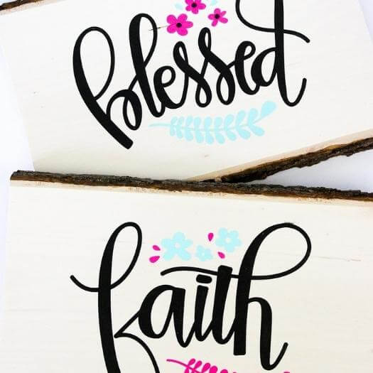 Hand Lettered Sign Grandma Mothers Day DIY Homemade Crafting Gift Ideas Inspiration How To Make Tutorials Recipes Gifts To Make
