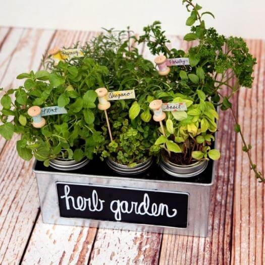 Herb Markers Best Friend Mothers Day DIY Homemade Crafting Gift Ideas Inspiration How To Make Tutorials Recipes Gifts To Make