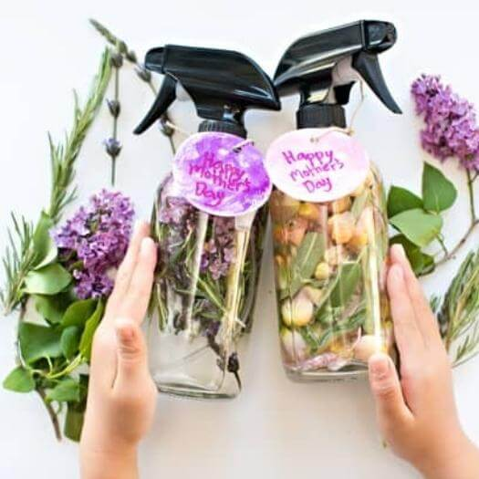 Herb Perfume Personalized Mothers Day DIY Homemade Crafting Gift Ideas Inspiration How To Make Tutorials Recipes Gifts To Make