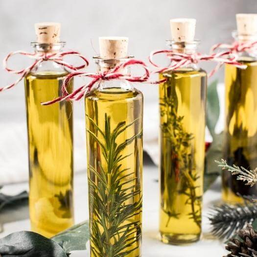 Infused Olive Oils Best Friend Mothers Day DIY Homemade Crafting Gift Ideas Inspiration How To Make Tutorials Recipes Gifts To Make