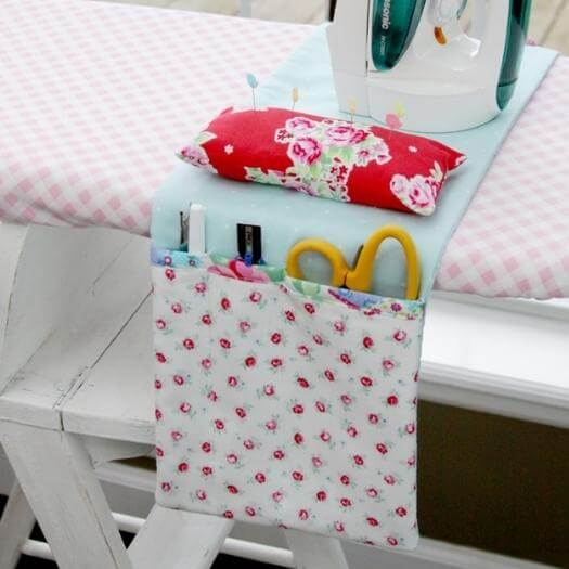 Ironing Board Organizer Best Friend Mothers Day DIY Homemade Crafting Gift Ideas Inspiration How To Make Tutorials Recipes Gifts To Make