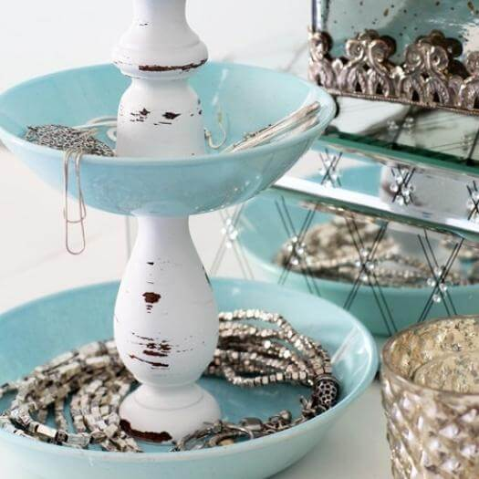 Jewelry Storage Best Mothers Day DIY Homemade Crafting Gift Ideas Inspiration How To Make Tutorials Recipes Gifts To Make