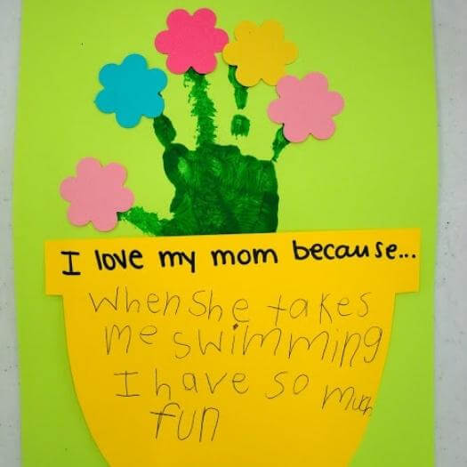 Kids Flower Pot Card Cheap Affordable Mothers Day DIY Homemade Crafting Gift Ideas Inspiration How To Make Tutorials Recipes Gifts To Make
