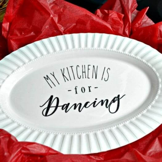 Kitchen Platter Sister Mothers Day DIY Homemade Crafting Gift Ideas Inspiration How To Make Tutorials Recipes Gifts To Make