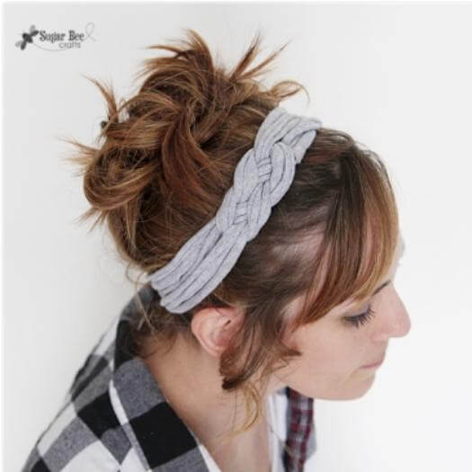 Knotted Headband Best Mothers Day DIY Homemade Crafting Gift Ideas Inspiration How To Make Tutorials Recipes Gifts To Make