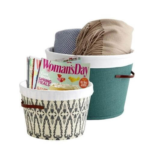 Lampshade Bin Cheap Affordable Mothers Day DIY Homemade Crafting Gift Ideas Inspiration How To Make Tutorials Recipes Gifts To Make