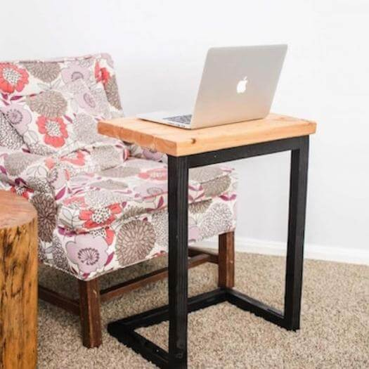 Laptop Table Sister Mothers Day DIY Homemade Crafting Gift Ideas Inspiration How To Make Tutorials Recipes Gifts To Make