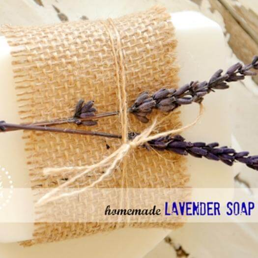 Lavender Soap Sister Mothers Day DIY Homemade Crafting Gift Ideas Inspiration How To Make Tutorials Recipes Gifts To Make