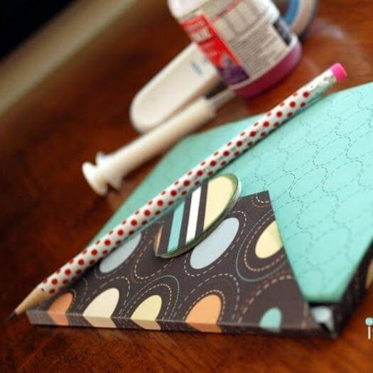 Legal Pad Cover Best Friend Mothers Day DIY Homemade Crafting Gift Ideas Inspiration How To Make Tutorials Recipes Gifts To Make