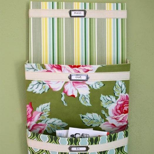 Mail Organizer Unique Mothers Day DIY Homemade Crafting Gift Ideas Inspiration How To Make Tutorials Recipes Gifts To Make