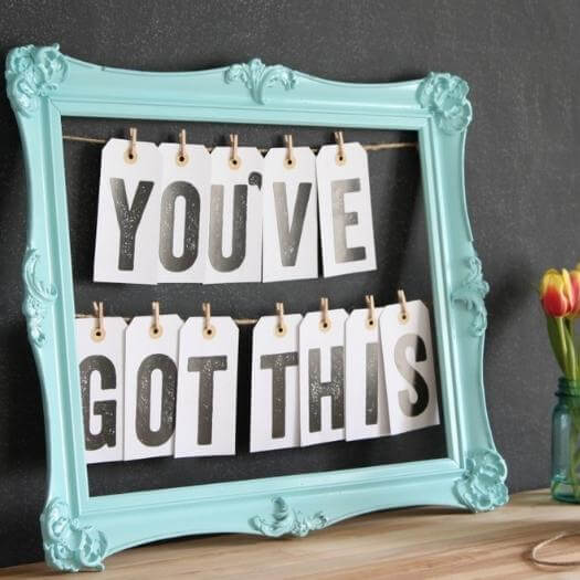 Message Board Personalized Mothers Day DIY Homemade Crafting Gift Ideas Inspiration How To Make Tutorials Recipes Gifts To Make