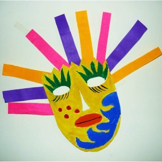 Mexican Mask Mexican Mothers Day DIY Homemade Crafting Gift Ideas Inspiration How To Make Tutorials Recipes Gifts To Make