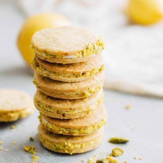 Meyer Lemon Cookies Cheap Affordable Mothers Day DIY Homemade Crafting Gift Ideas Inspiration How To Make Tutorials Recipes Gifts To Make