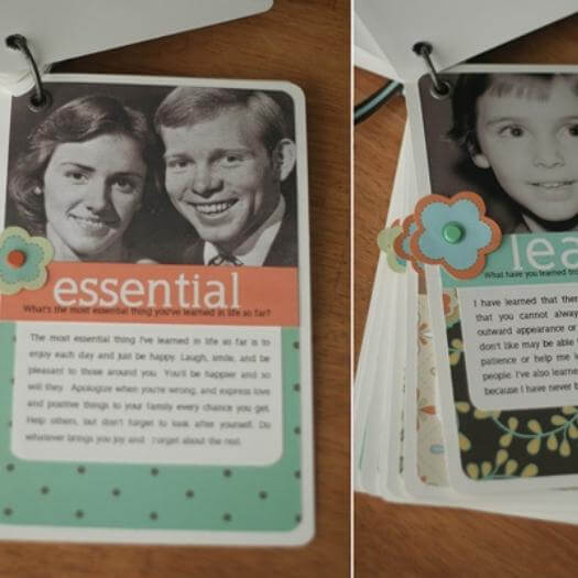 Mini Photo Album Personalized Mothers Day DIY Homemade Crafting Gift Ideas Inspiration How To Make Tutorials Recipes Gifts To Make