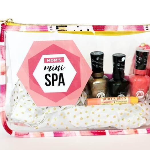 Mini Spa Printables Cheap Affordable Mothers Day DIY Homemade Crafting Gift Ideas Inspiration How To Make Tutorials Recipes Gifts To Make