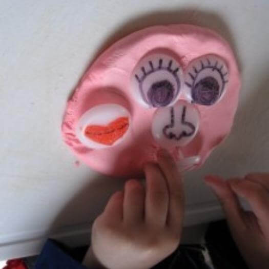 Mr Playdough Face Funny Mothers Day DIY Homemade Crafting Gift Ideas Inspiration How To Make Tutorials Recipes Gifts To Make