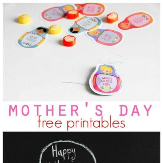 Nested Gift Tags Cheap Affordable Mothers Day DIY Homemade Crafting Gift Ideas Inspiration How To Make Tutorials Recipes Gifts To Make